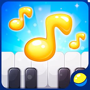 Учим ноты пианино — обучающая игра для малышей